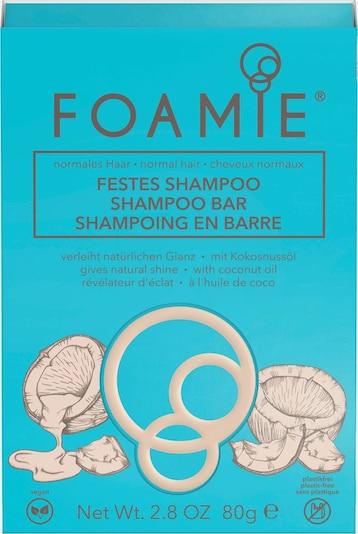 FOAMIE Haarshampoo in beige / blau, Produktansicht