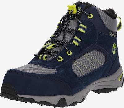 TIMBERLAND Schuhe 'Ossipee Mid Bungee GTX WL' in navy / grau / neongrün, Produktansicht
