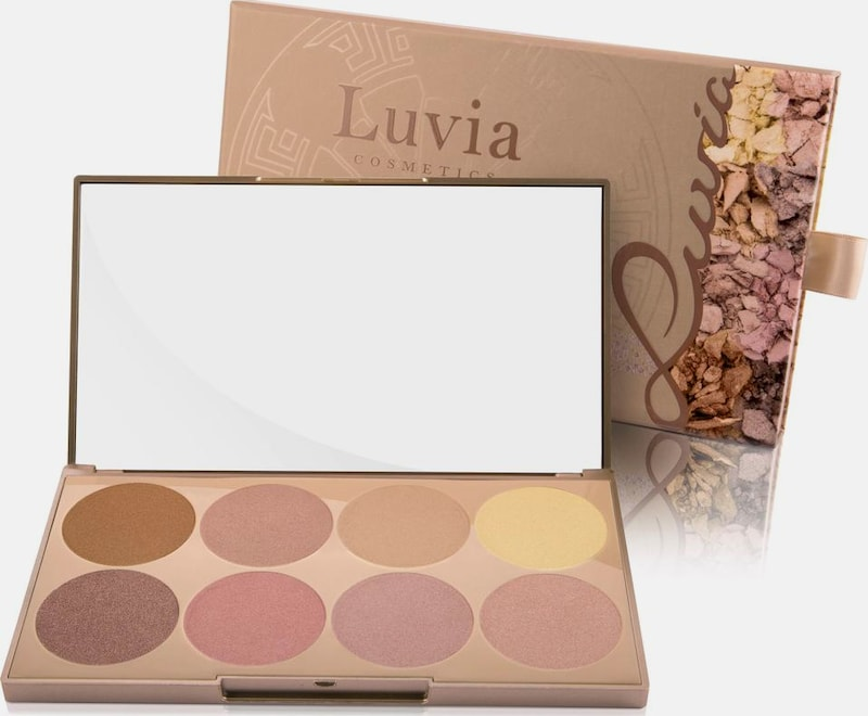 Luvia Cosmetics 'Prime Glow Palette - Essential Contouring Shades Vol. 1', Vegane Highlighter Palette