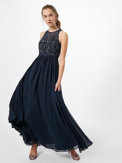 Unique Kleid in dunkelblau, Modelansicht