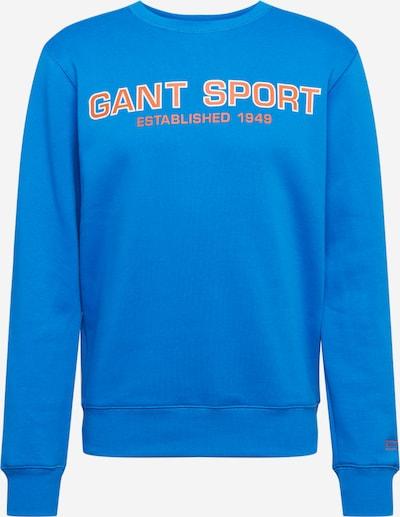 GANT Sweatshirt in himmelblau / grenadine / weiß, Produktansicht