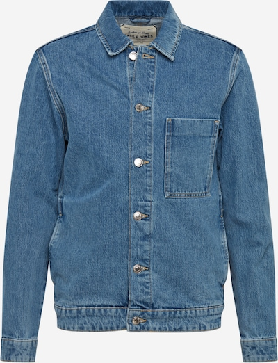 JACK & JONES Jacke 'JJITOD' in blue denim, Produktansicht