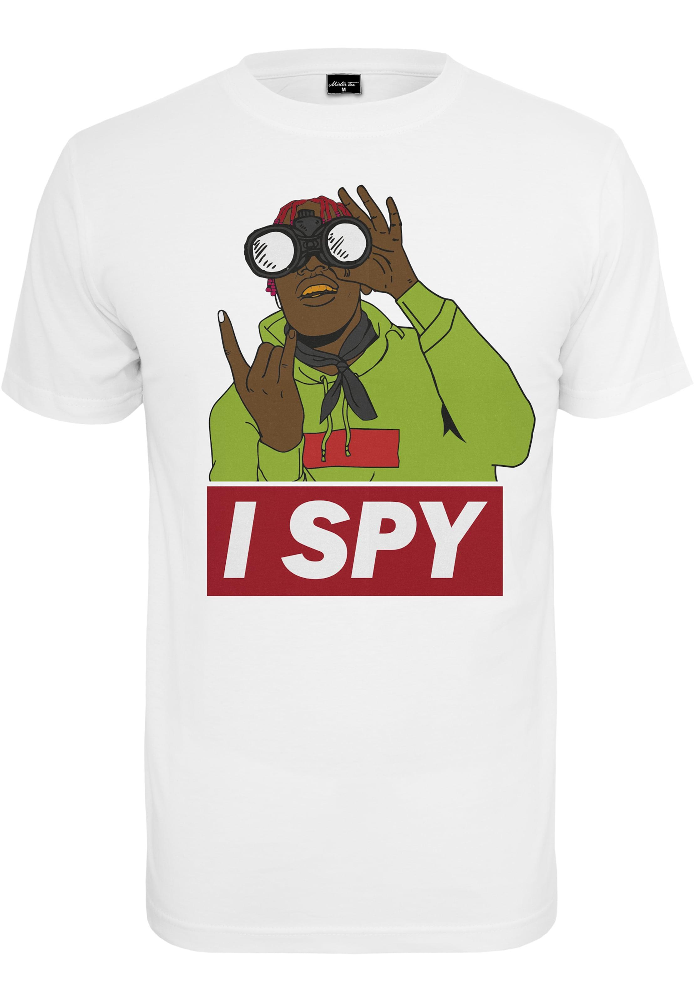 In MischfarbenWeiß Tee 'i Spy' T Mister shirt 80vNmOywnP