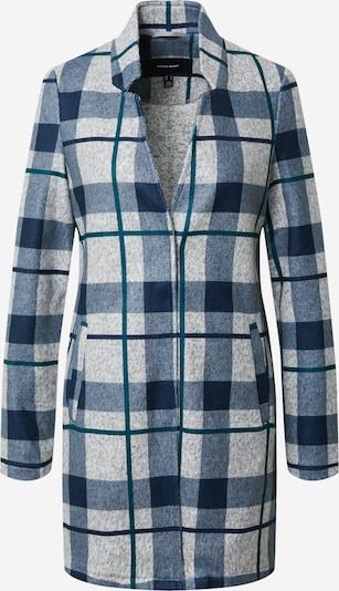 VERO MODA Overgangsfrakke 'Brushe Katrine' i navy / grå, Produktvisning
