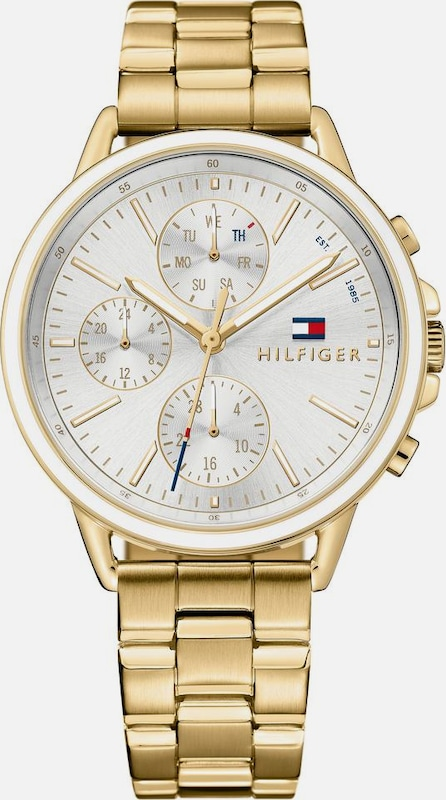 TOMMY HILFIGER Multifunktionsuhr 'Casual Sport, 1781786'