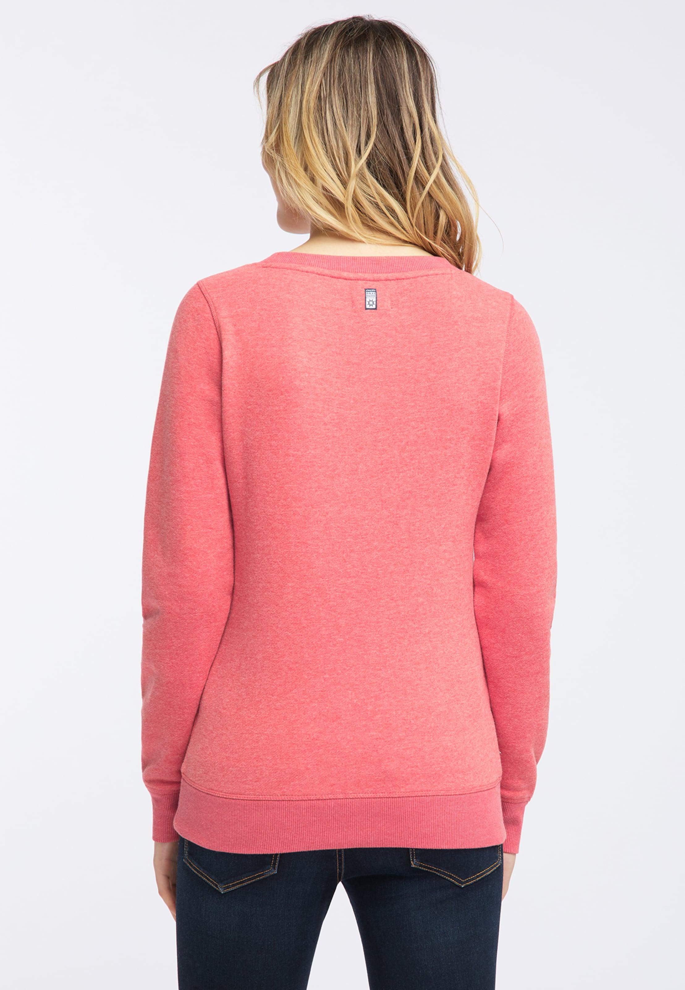 Sweat shirt CorailRose Dreimaster Rouge En wNv8ynO0m