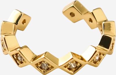 Cercei 'Jagged Diamond' Orelia pe auriu, Vizualizare produs