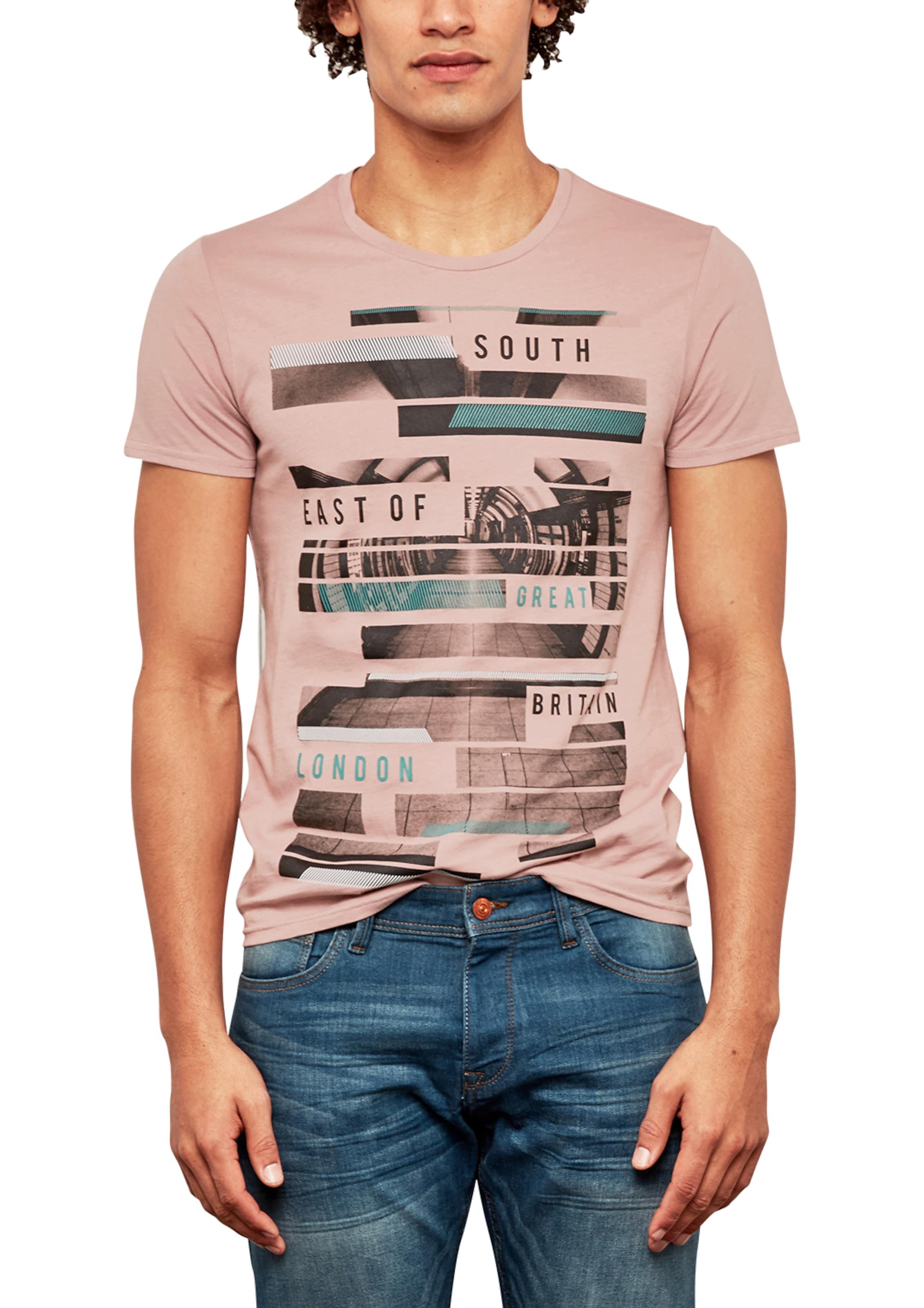 Q/S designed by T-Shirt mit Print-Collage Freies Verschiffen Amazon Manchester Großer Verkauf Günstig Online Besuch 2018 Neuer Günstiger Preis Klassisch Wo7FuaNqY