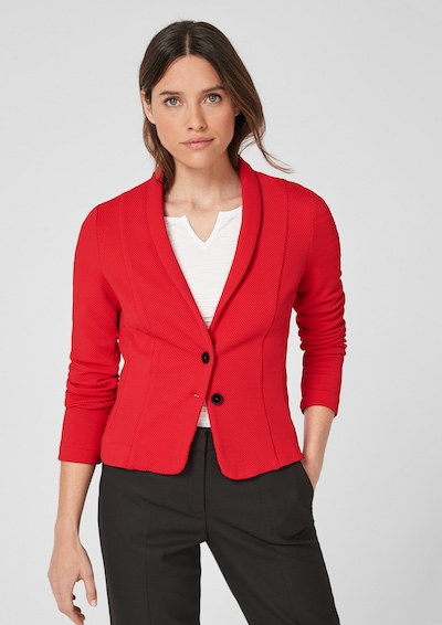 s.Oliver BLACK LABEL Blazer in rot, Modelansicht