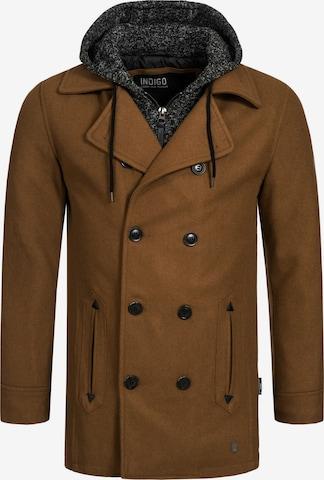 Manteau d'hiver 'Cliff Jacke' INDICODE JEANS en marron