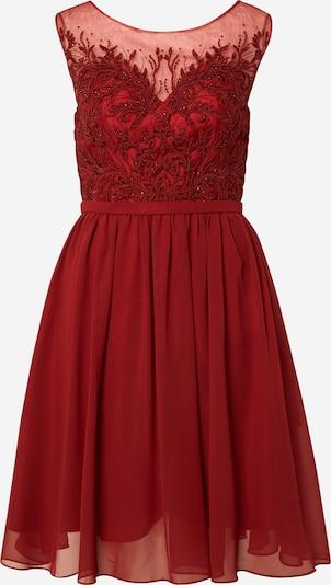 Kokteilinė suknelė 'KEYHOLE LACE' iš mascara , spalva - vyno raudona spalva, Prekių apžvalga