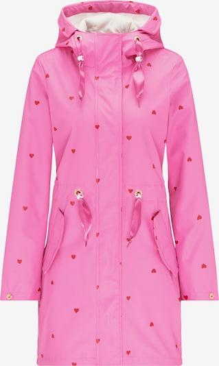 MYMO Manteau fonctionnel en rose / rouge, Vue avec produit