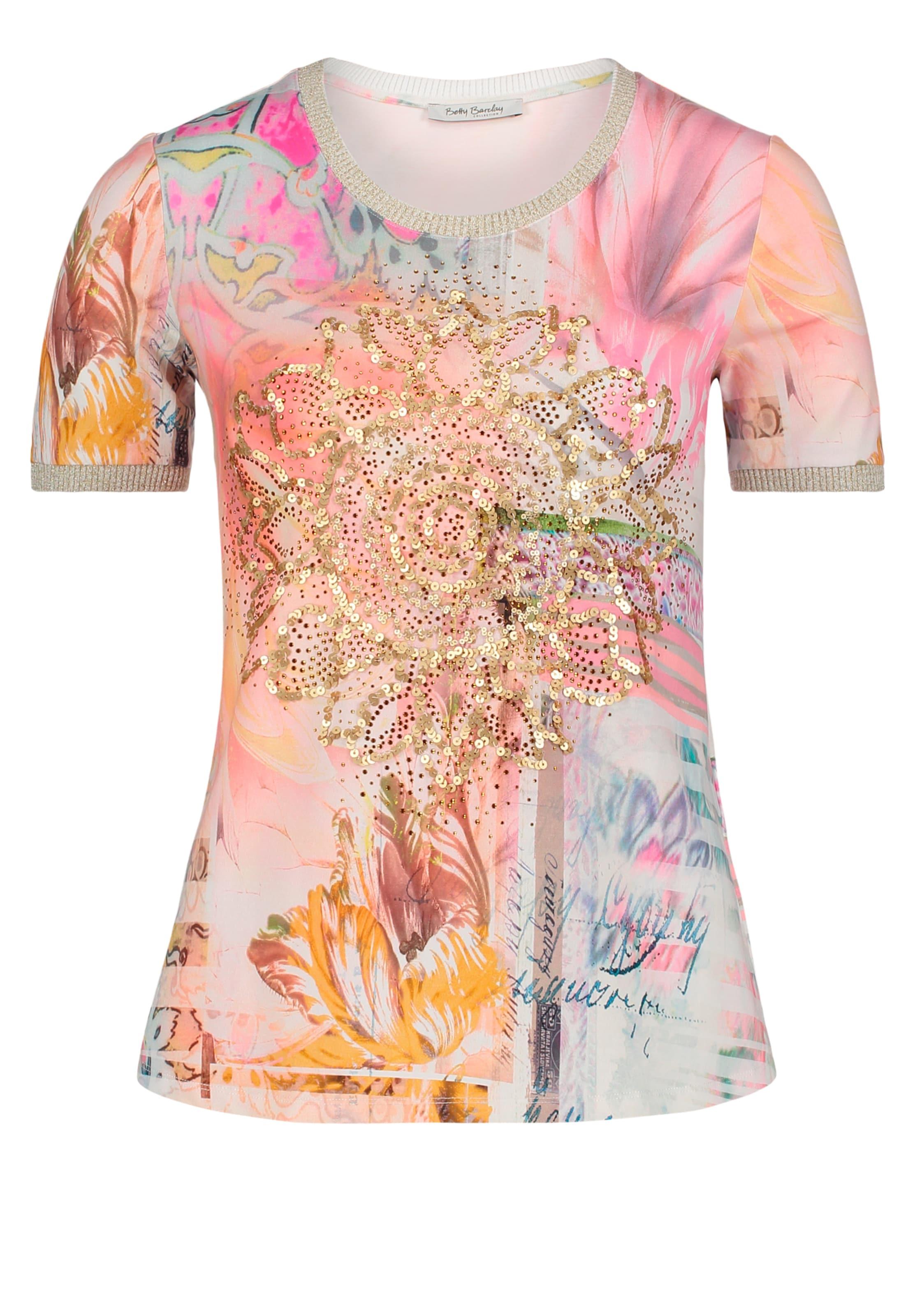 Betty Shirt In CamelMischfarben Betty Barclay nOkXN0Z8Pw