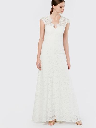 IVY & OAK Robe de soirée en blanc, Vue avec modèle