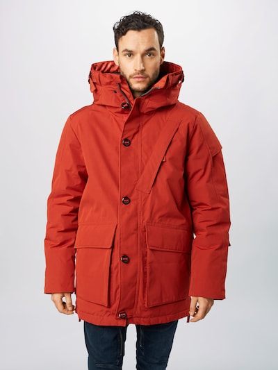G-Star RAW Parka 'Citishield' in rostrot: Frontalansicht
