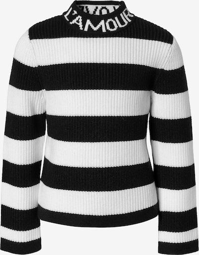 NAME IT Pullover in schwarz / weiß, Produktansicht
