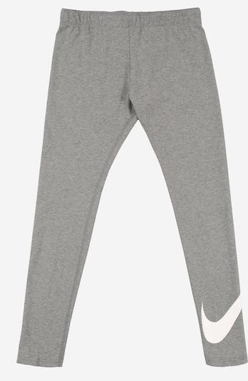 Nike Sportswear Leggings 'FAVORITES' in grau / weiß, Produktansicht
