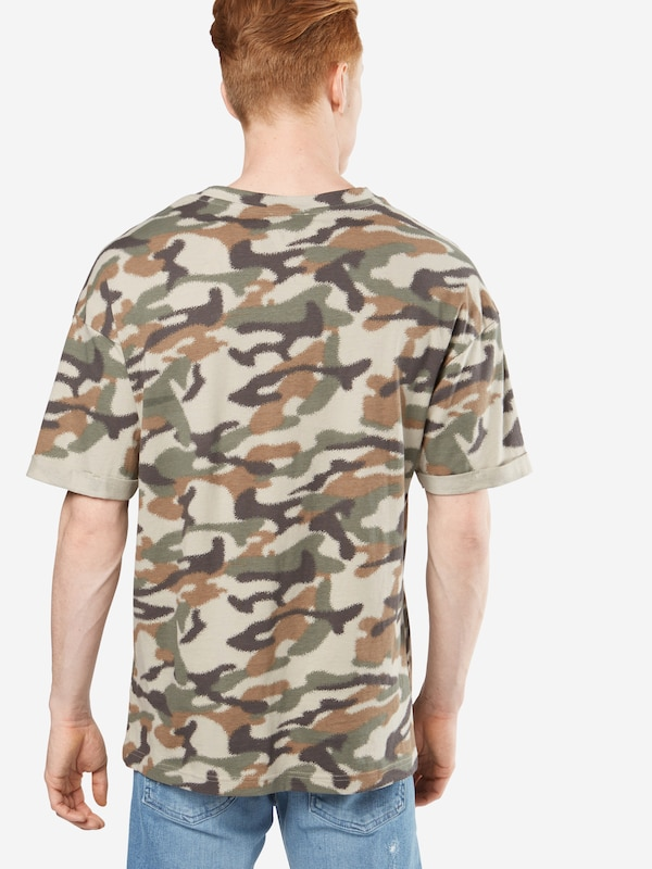 Review T-Shirt 'RN BOXY CAMOU'