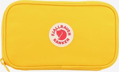 Fjällräven Geldbörse 'Kanken' in beige / gelb / rot, Produktansicht