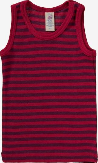 ENGEL Unterhemd in rot / dunkelrot, Produktansicht
