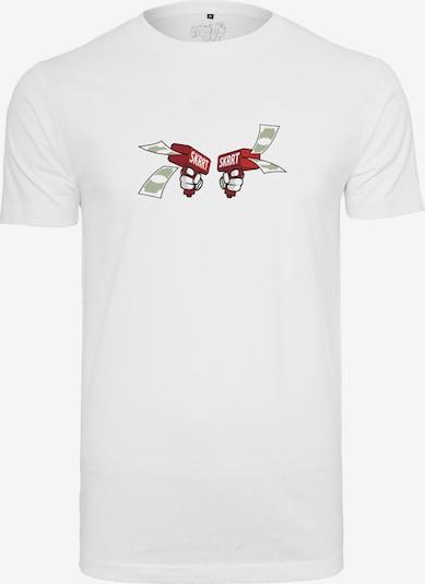 Mister Tee Tee 'Money To Blow' in orange / rot / schwarz / weiß: Frontalansicht