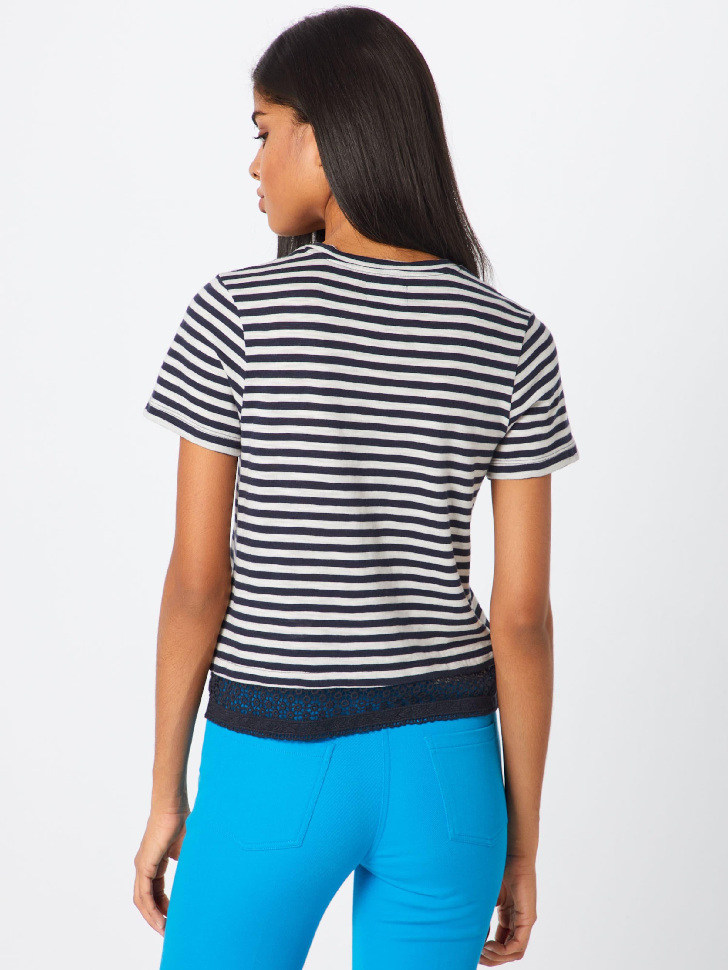 shirt Bleu En Superdry MarineBlanc T iPTZuOkX