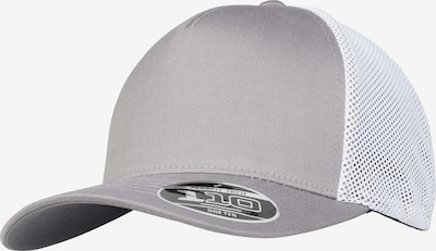 Flexfit Cap '110 Trucker' in grau / weiß, Produktansicht