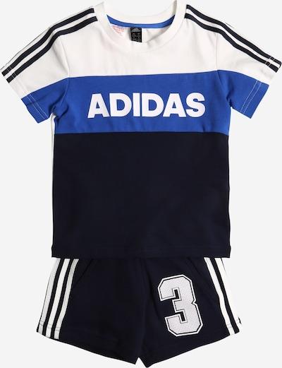 ADIDAS PERFORMANCE Trainingsanzug in nachtblau / himmelblau / weiß, Produktansicht
