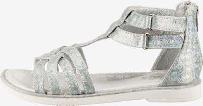 LICO Sandale in silber, Produktansicht