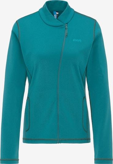 PYUA Sportjas 'Appeal' in de kleur Turquoise / Petrol, Productweergave