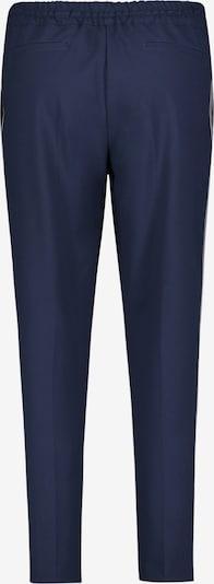 Betty Barclay Schlupfhose mit Galonstreifen in blau: Frontalansicht