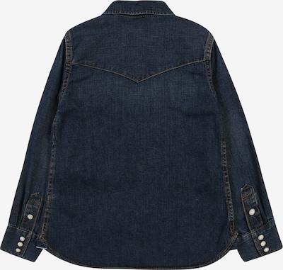 GAP Košile '50TH DNM SHIRT' - modrá džínovina: Pohled zezadu