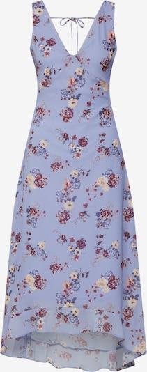 even&odd Letní šaty - cappuccino / světle fialová / červená, Produkt