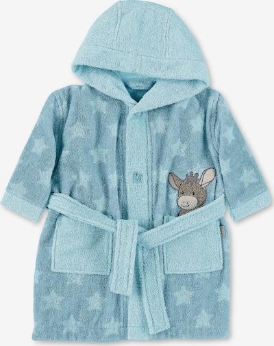 STERNTALER Bademantel 'Emmi' in himmelblau / hellblau, Produktansicht