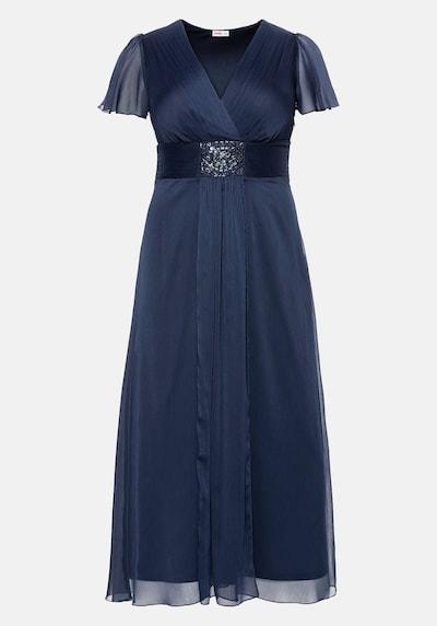 Rochie de seară SHEEGO pe albastru marin, Vizualizare produs