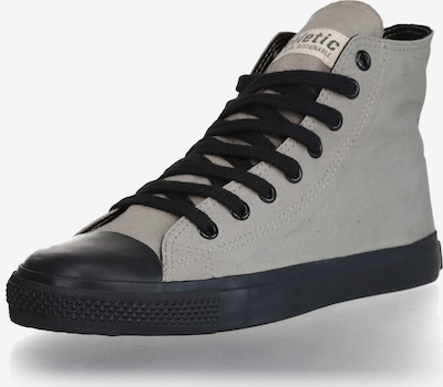 Ethletic Sneaker '18 True Blood' in grau / schwarz: Frontalansicht