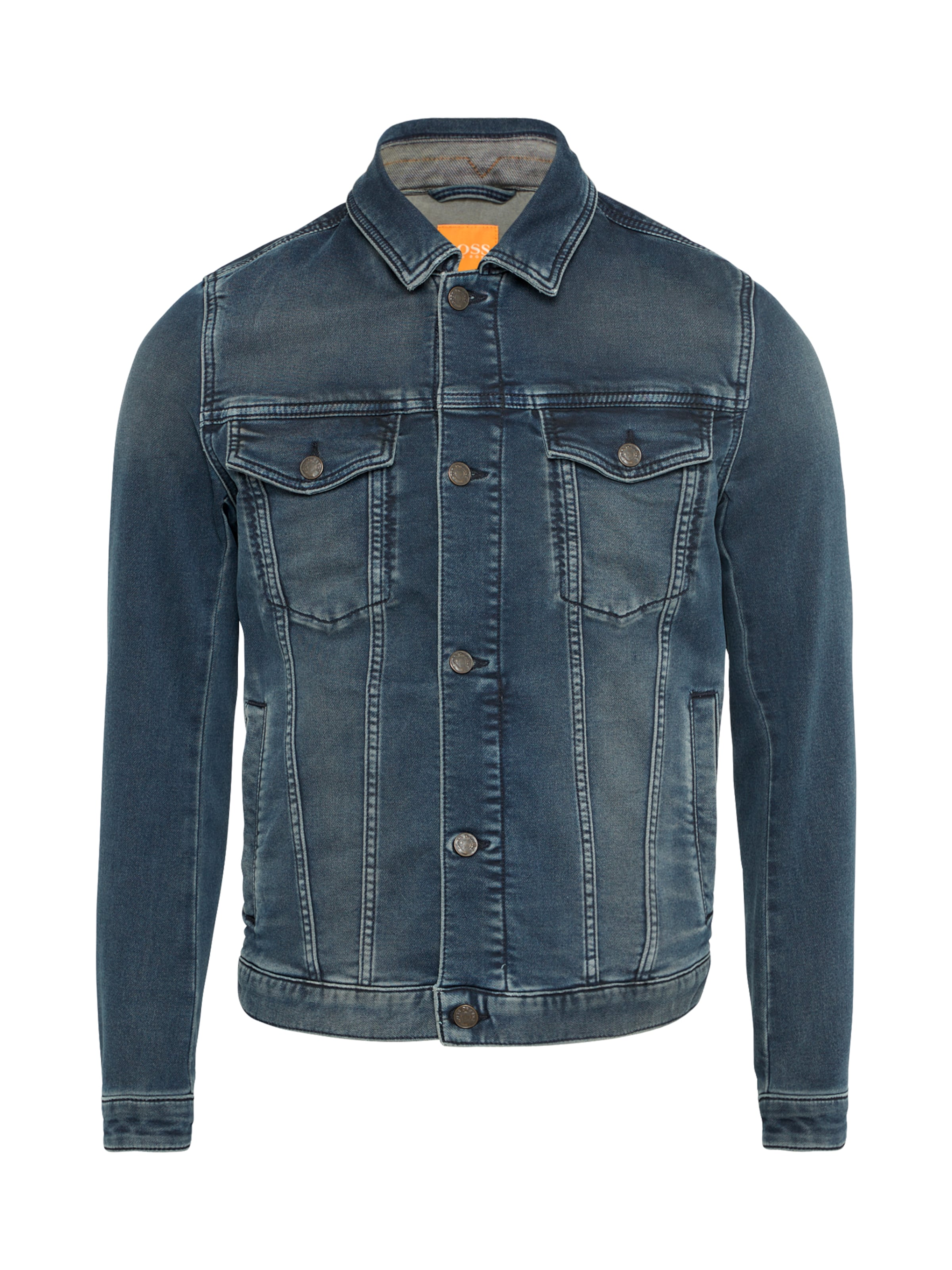 Jeansjacke 'Orange1 Livingston US'