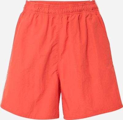 ADIDAS ORIGINALS Shorts in rot / weiß, Produktansicht