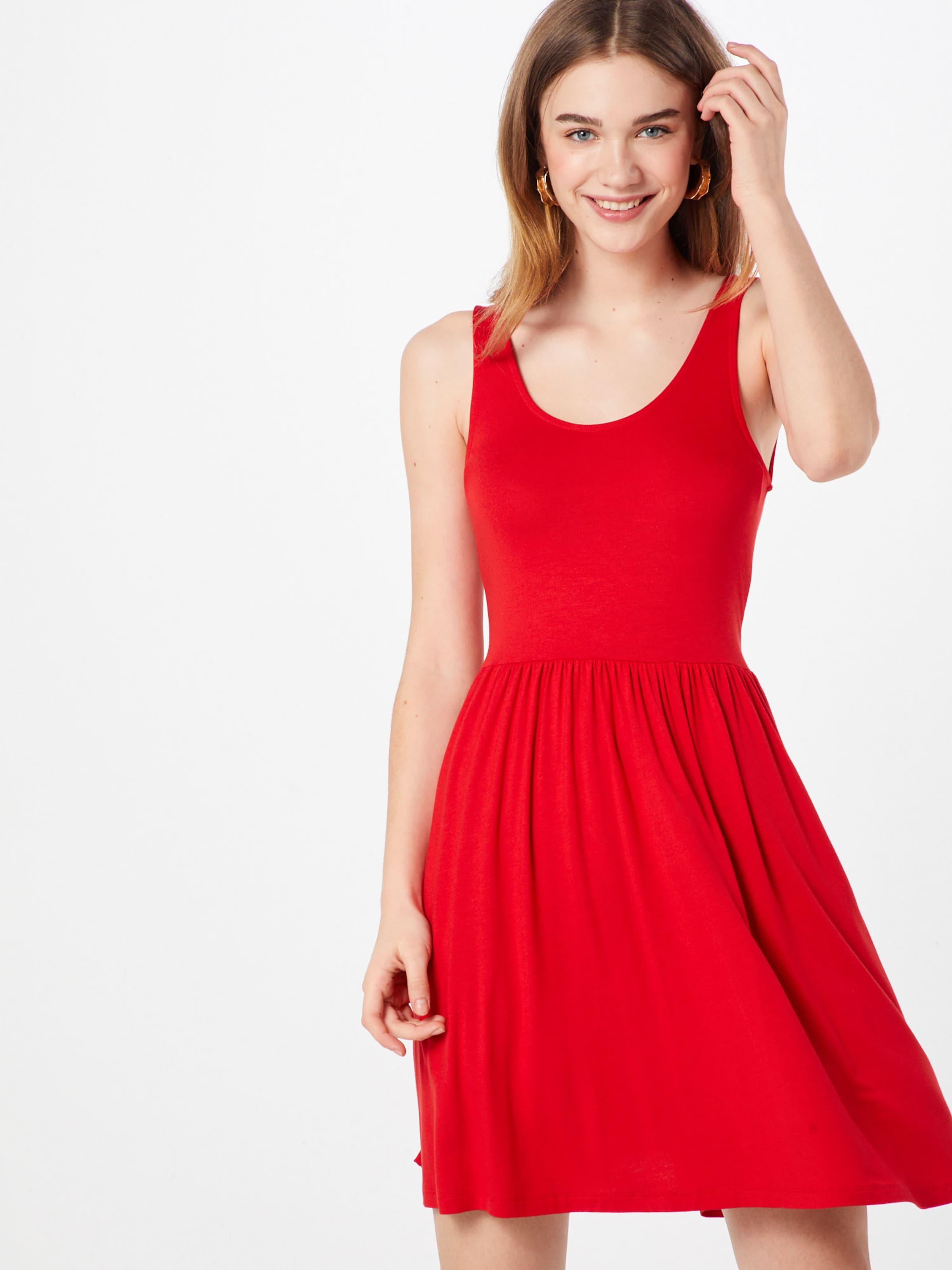 En Rouge D'été Orangé Robe Pieces bgvf67Yy