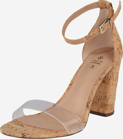 CALL IT SPRING Sandale 'TAYVIA' in braun, Produktansicht