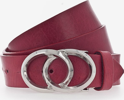 b.belt Handmade in Germany Riem in de kleur Rood, Productweergave