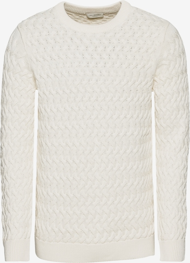 SELECTED HOMME Pullover in weiß: Frontalansicht