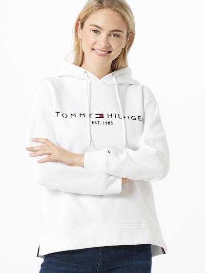 TOMMY HILFIGER Bluzka sportowa w kolorze białym, Podgląd na modelu(-ce)