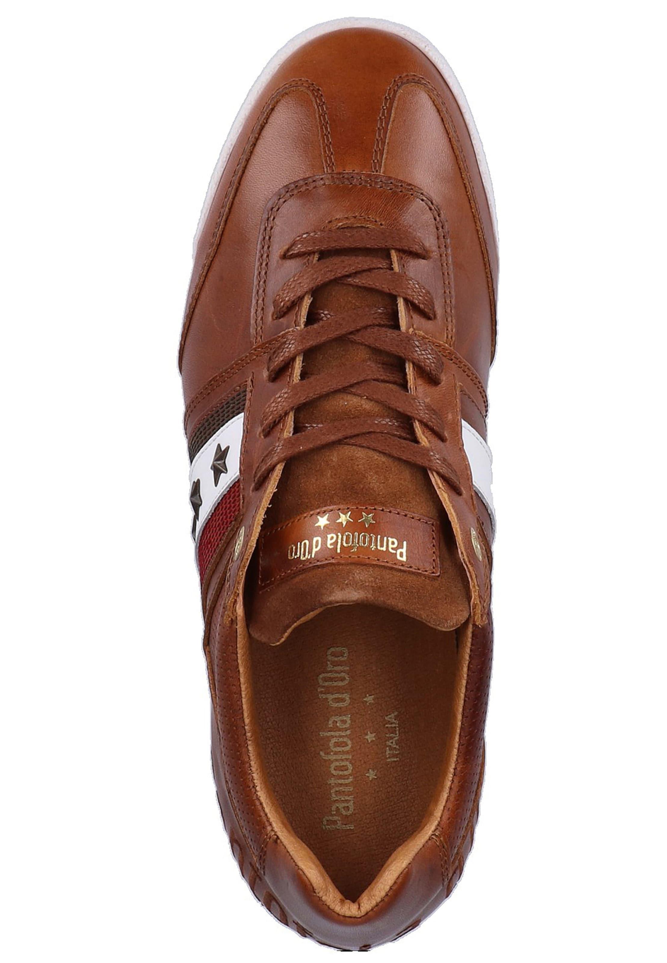 D'oro Pantofola Sneaker D'oro BraunWeiß In BraunWeiß Sneaker In Pantofola dsrotxBQhC