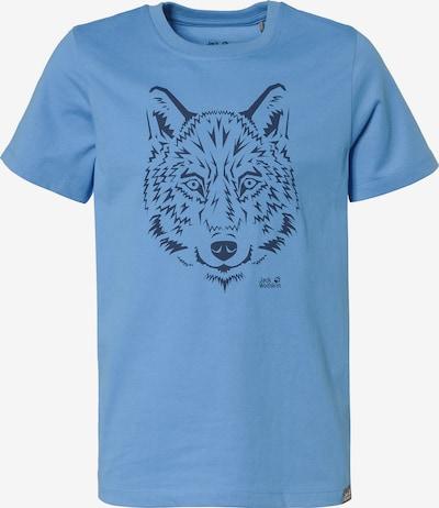 JACK WOLFSKIN T-Shirt in blau, Produktansicht
