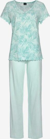 VIVANCE Pyjama in mint, Produktansicht