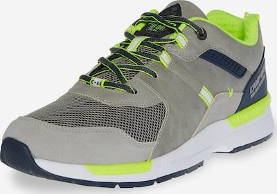 CAMP DAVID Sneaker in grau / neongrün, Produktansicht