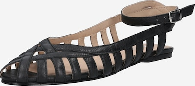 ABOUT YOU Ballerina met riempjes 'Anita' in de kleur Zwart, Productweergave