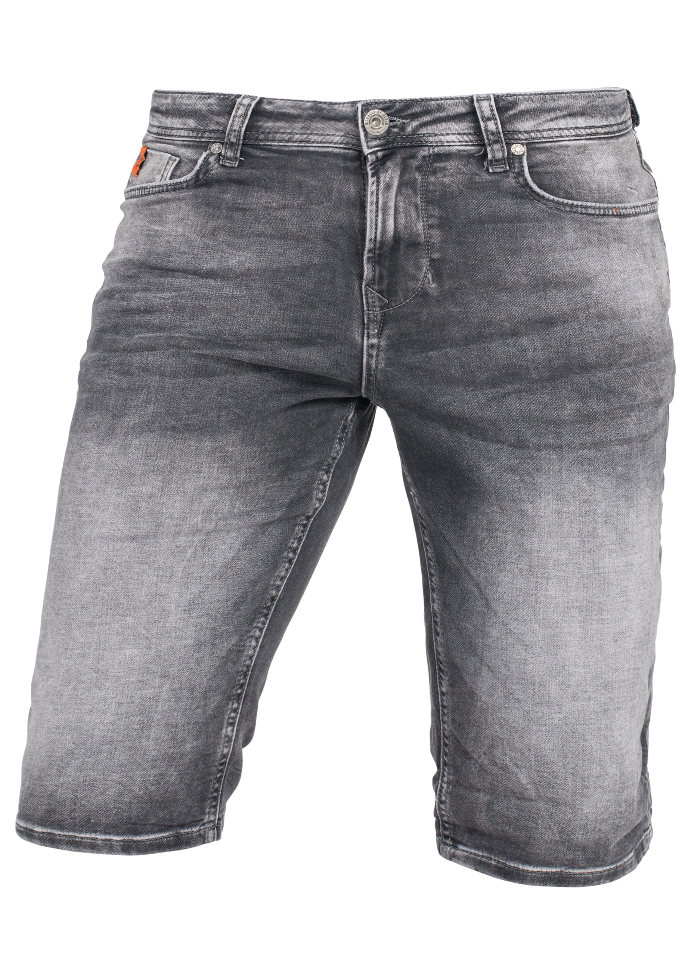 Miracle Jeansshorts In Denim Of Grau CQdexoWrB