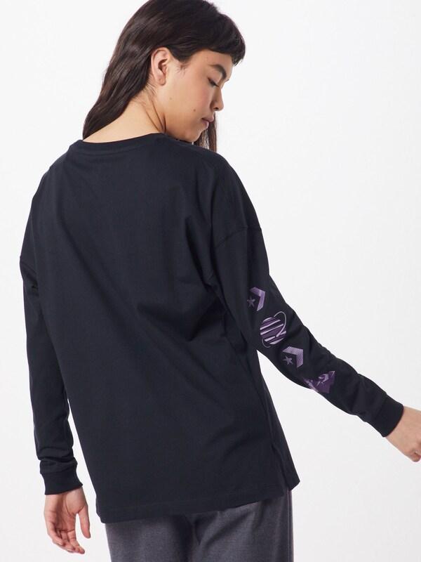 CONVERSE Sweatshirt in mischfarben schwarz | ABOUT YOU
